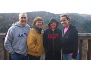 Family at PA Grand Canyon